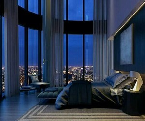 bedroom, decor, and luxury image