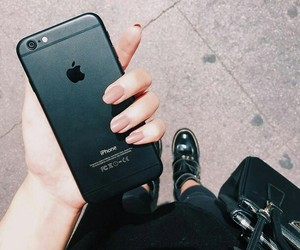 beautiful, girl, and iphones image