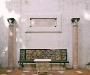 beautiful, bench, and Cadiz image