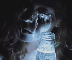 tears, bottle, and bouteille image