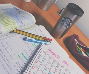 homework, planner, and plant image