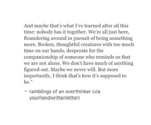 broken, life, and quote image