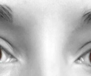 browneyes blackandwhite image