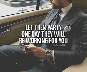 businessman, empire, and encouraging words image