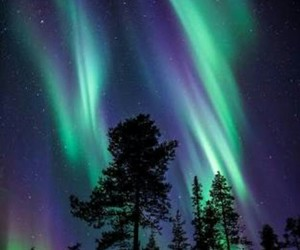 nature, sky, and aurora image