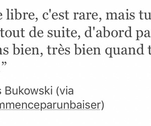 charles bukowski, french, and quotes image