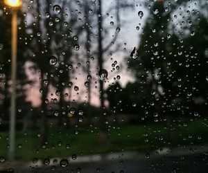 rain, lluvia, and sad image