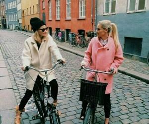adventures, bike, and street image