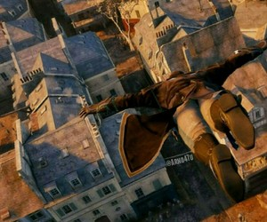 Assassins Creed, down, and eagle image