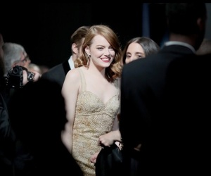 emma stone and oscars 2017 image