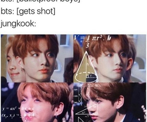jungkook, meme, and bts image