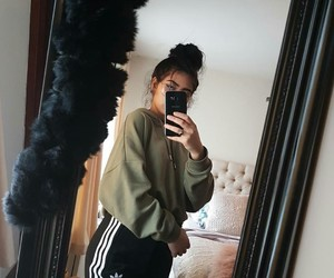 girl and adidas image