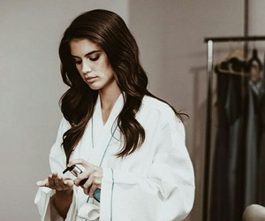 set, moroccanoil, and sara sampaio image