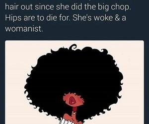 black girl and natural image
