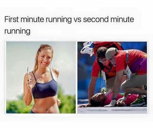 fitness, funny, and me image