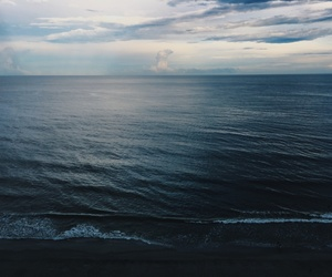 hipster, indie, and ocean image