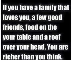 quotes, family, and friends image