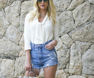blond, fashion, and jeans image