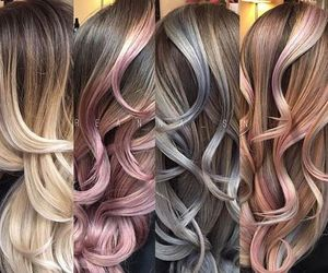 pastel, feshfenhair, and rainbowhair image