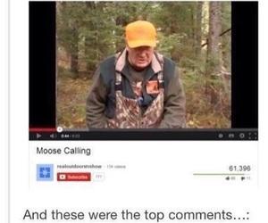 supernatural, moose, and dean image