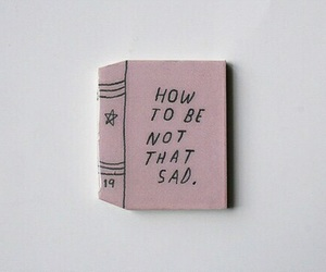 sad, book, and grunge image