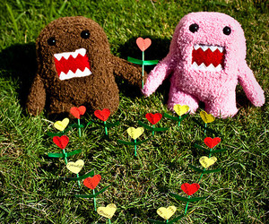 domo, domo-kun, and heart image