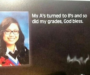 funny and yearbook quote image