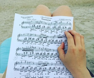 beach, inspiration, and music image
