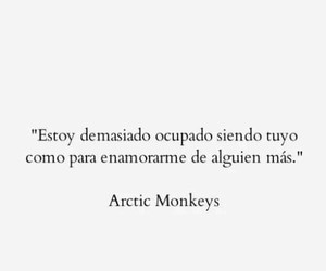 love, frases, and arctic monkeys image