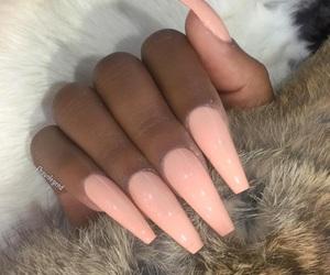 nails, tumblr, and baddie image