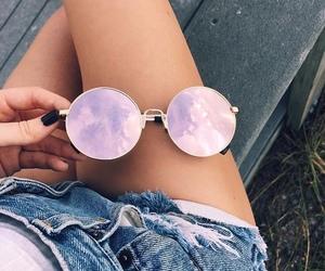 boho, jeans, and nails image