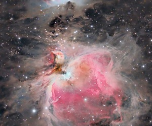 colors, galaxy, and pink image
