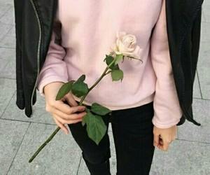 black, pink, and rose image