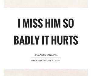 broken, hurts, and i miss him image