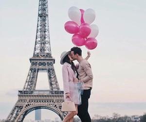 love, paris, and boy image