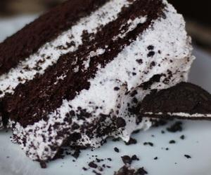 cake, oreo, and chocolate image