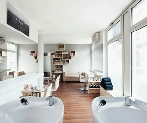 budapest, hair salon, and relaxing image