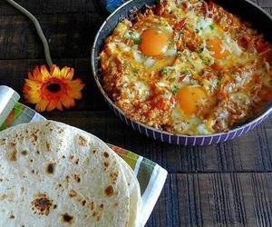 turkish food and menemen image