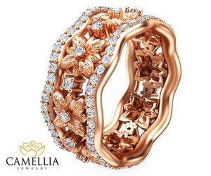 art deco, custom ring, and 14k gold ring image