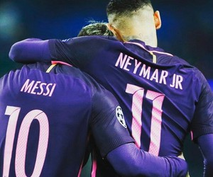 Barca, messi, and neymar jr image