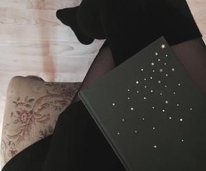 book, dark, and grunge image
