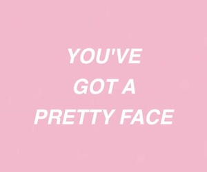 pretty, face, and pink image