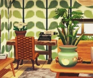 green, plants, and acnl image