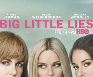 big little lies, Nicole Kidman, and Reese Witherspoon image
