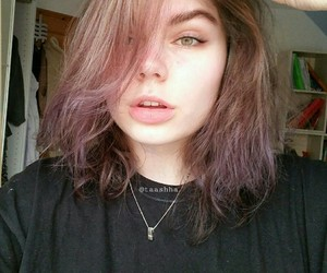 fashion, grunge, and colorfulhair image