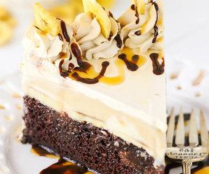 banana, chocolate, and dessert image