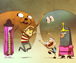adventure time, flapjack, and finn image