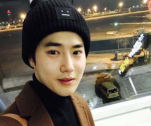suho, exo, and junmyeon image