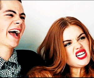 stydia, dylanobrien, and teenwolf image
