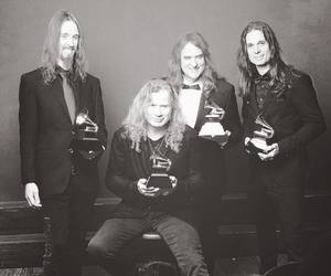 dave mustaine, megadeth, and grammy 2017 image